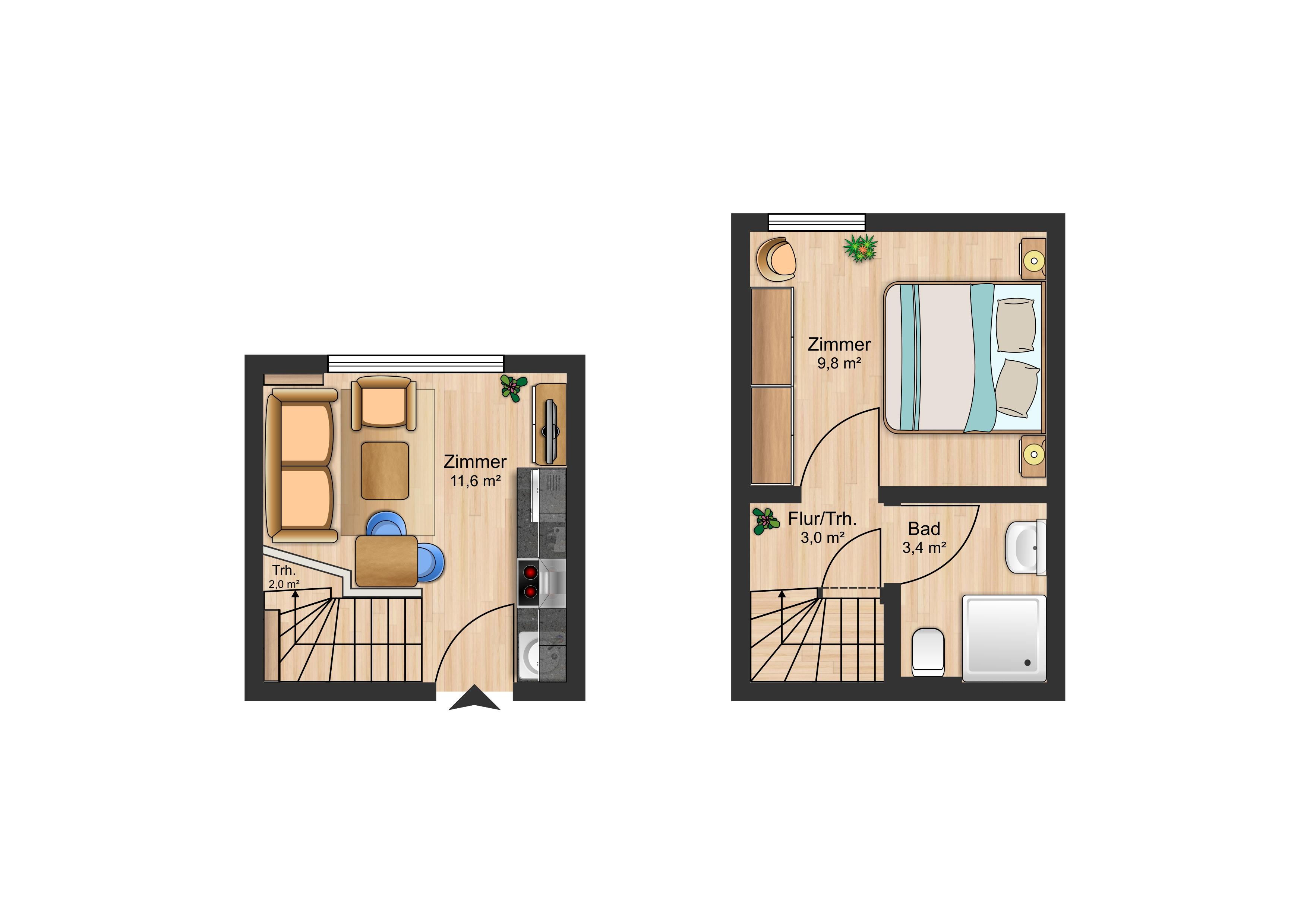 rosenkamp app 2 eg mi in westerland mit terrasse. Black Bedroom Furniture Sets. Home Design Ideas