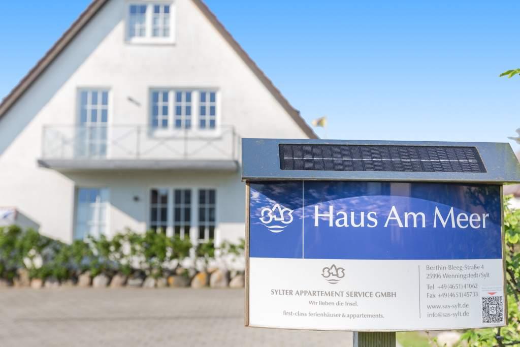 """""""Haus am Meer"""" Strandmuschel in Wenningstedt mit Balkon"""